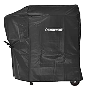 Cloakman Grill Cover for Traeger Junior Elite/Tailgater Wood Pellet Grill TFB29LZB/TFB30LZB from legendary Cloakman