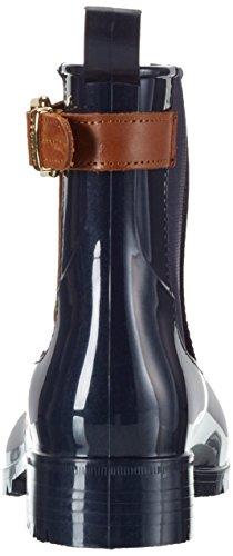 Tommy Hilfiger O1285xley 2z, Botines para Mujer Azul - Blau (Midnight 403)