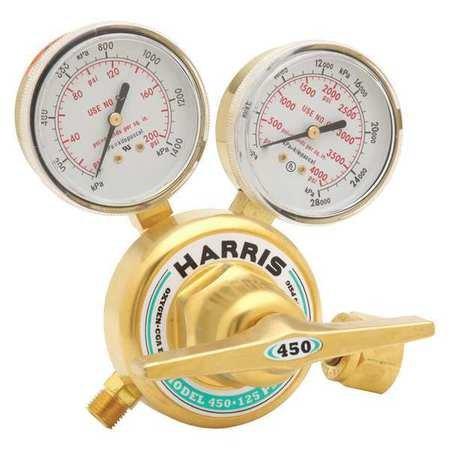 Gas Regulator 0 to 125 psi Oxygen
