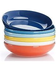 Sweese Porcelain Pasta Bowls - Set of 6