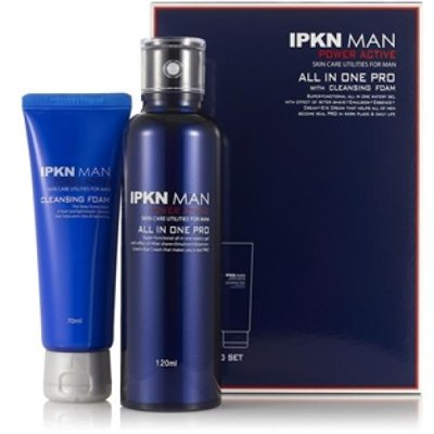 Multi Active Cleansing Cream (Ipkn Man Power Active All In One Pro With Cleansing Foam)