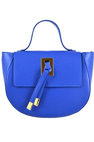 LuanaRomizi.com 8036P18IB - Bolso de asas para mujer azul (bluette)
