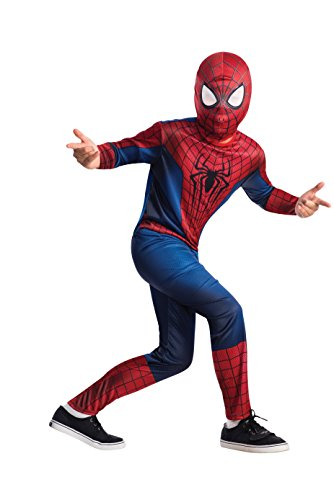 The Amazing Spider-man 2, Spider-man Value Costume, Child Large 12-14 (Gnome Halloween Costume)