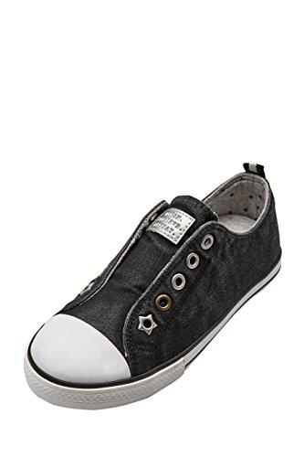 next Niñas Zapatillas Sin Cordones Zapatos Calzado Negro