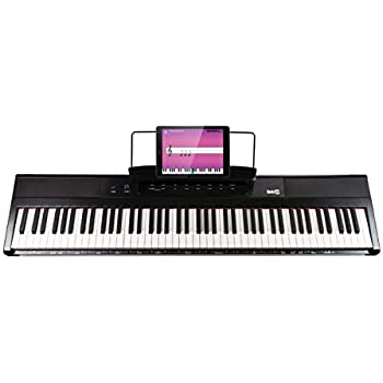 Amazon com: Alesis Recital   88-Key Beginner Digital Piano with Full