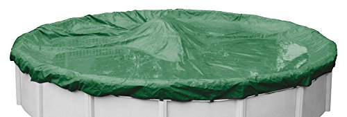 Rip-Shield Optimum Winter Pool Cover for Round Above Ground Swimming Pools, 21-ft. Round Pool - Robelle 5021-4