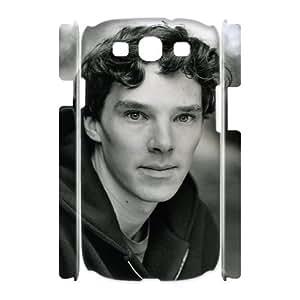 C-EUR Benedict Cumberbatch Customized Hard 3D Case For Samsung Galaxy S3 I9300