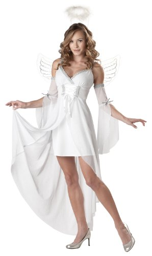 California Costumes Women's Heaven's Angel Adult, White, X-Small