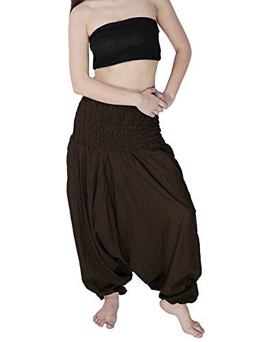 Donna Kiara Kiara Pantaloni Pantaloni harem Brown harem Donna nvx1aH