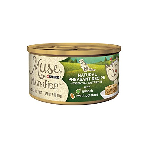 Muse by Purina Masterpieces Natural Wet Cat Food - (24) 3...