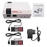Ocamo Classic Mini Family Game Consoles Built-in 500 TV Video Game with Dual Controllers(HD, HDMI Socket) European regulations