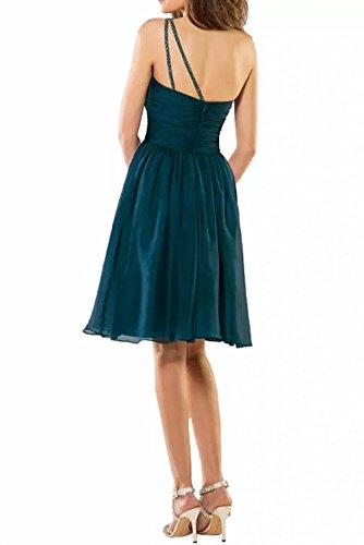 Linie Braut Brautjungfernkleider Marie Rock Kurz Schulter Attraktive Dunkel Dunkel Cocktailkleider Blau A Ein La Blau Pa5w4p4x
