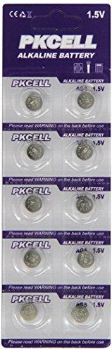 BlueDot Trading AG5 Batteries, 50 Count
