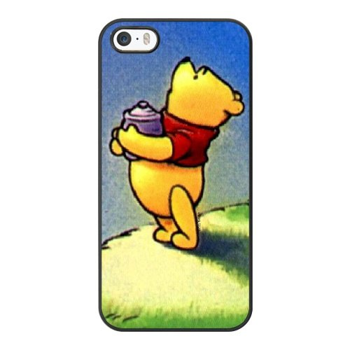 Coque,Coque iphone 5 5S SE Case Coque, Winnie The Pooh Meme Cover For Coque iphone 5 5S SE Cell Phone Case Cover Noir