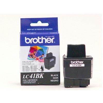 (Brother Black Ink Cartridge - 2 Pack (LC41BK2PKS) - Retail Packaging )