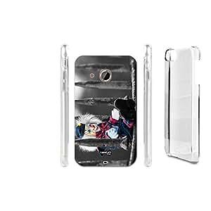 FUNDA CARCASA BAMBOLA CLOWN PARA HTC DESIRE 200