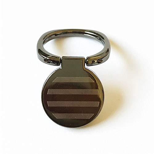 Universal Phone Ring Stand Holder 360 Degree Finger Ring (Black) ()