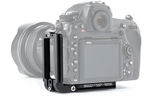 Arca-Swiss Compatible Fusion L-Bracket - Black Rapid Compatible - Color Black by Fusion Plate (Image #5)