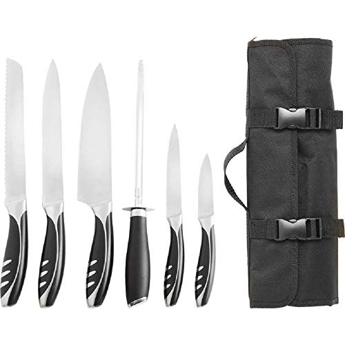 Slitzer Germany 7-Piece Professional Grade Chef's Cutlery Set