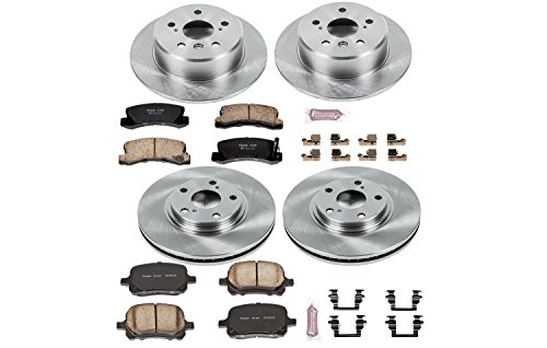 Autospecialty KOE2774 1-Click OE Replacement Brake Kit