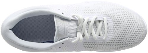 Uomo 4 100 Corsa Scarpe white Platinum Da white Bianco Nike Revolution pure Eu w1qZnWxWFU
