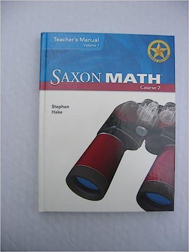Saxon math course 3 solutions manual (062537) details rainbow.