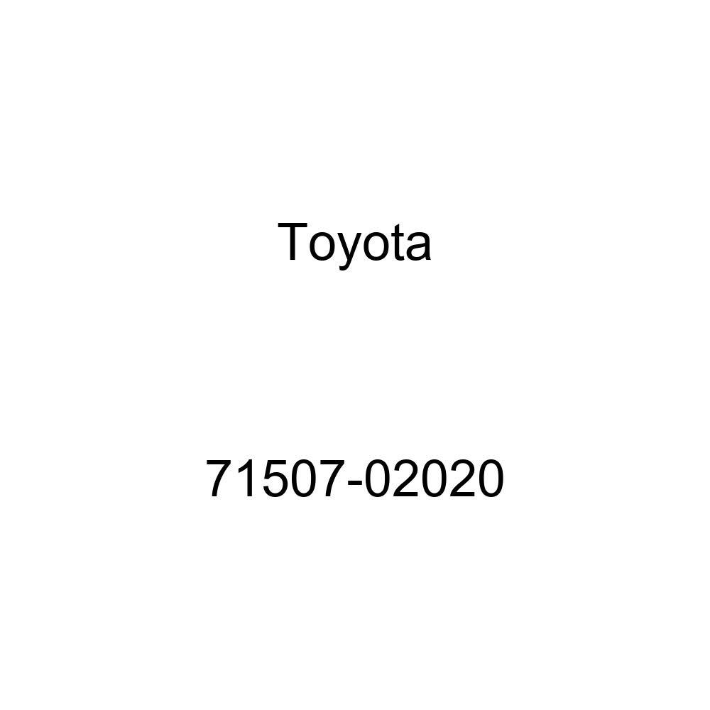 TOYOTA Genuine 71507-02020 Seat Back Pad