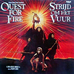 quest for fire LP