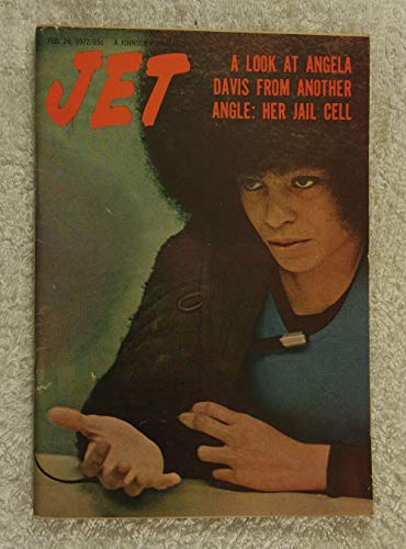 A Look at Angela Davis from Another Angle: Her Jail Cell - Jet Magazine - February 24, 1972 - Black Panther, Communist, Political Activist