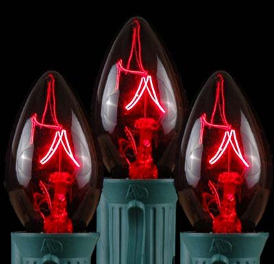 Novelty Lights Christmas Replacement Candelabra