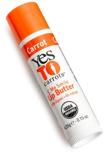 Yes To Carrots Lip Butter, Carrot, 0.15-Ounce Sticks (Pack of (Carrots Lip Butter)