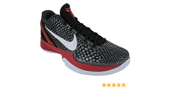 premium selection eadc3 19d04 Amazon.com   Nike Zoom Kobe VI Mens Basketball Shoes  429659-001  Varsity  Royal White-Black Mens Shoes 429659-001-18   Shoes