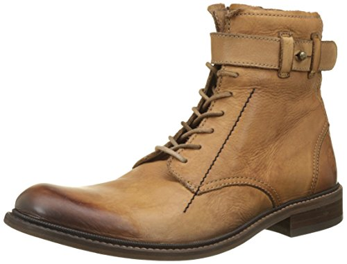 Fly London Hapa815fly, Stivali Combat Uomo Marrone (Antique Tan)
