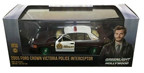 - Greenlight Chase Green Machine Hollywood Series 86525 Once Upon A Time Sheriff Graham's 2005 Ford Crown Victoria Police Interceptor Storybrooke 1:43 Scale