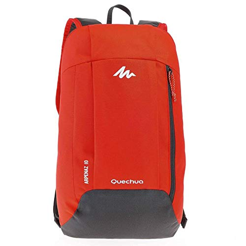 Quechua HIKING BACKPACK 10 LITRE (Red/Grey)