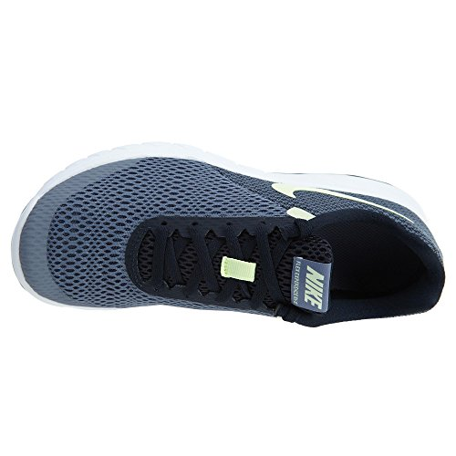 Nike Womens Flex Experience Rn 6 Hardloopschoen, Dark Sky Blue / Amper Volt-dark Obsidian 7