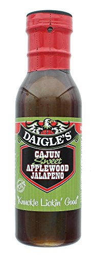 RS001 GOURMET FOOD, DAIGLE'S CAJUN SWEET APPLEWOOD JALAPENO SAUCE, QTY 1, 12 FL (Chocolate Chip Cheeseball)