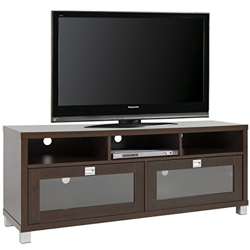 Best Choice Products TV Stand Storage Home Entertainment Fur