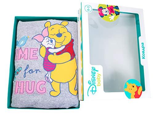 (Tigres Disney Winnie The Pooh Super Soft Velour Baby Blanket in Box)