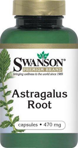 Astragalus Root 470 mg. Caps, 100 ct. (Caps 100 Singles Herbal)