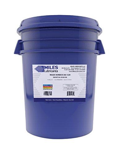 MILES LUBRICANTS M00600503 Nimbus ISO 320 Industrial Gear Oil, 5 gal, Pail - Gear Oil 5 Gallon Pail