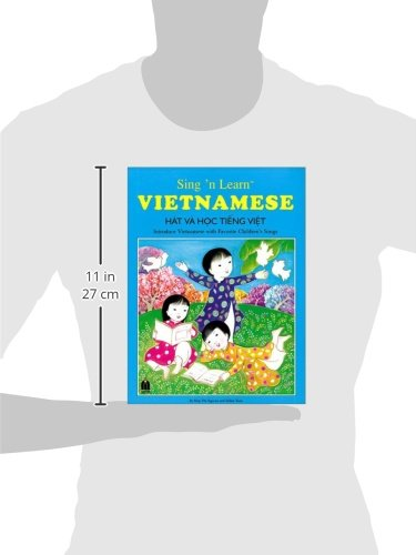 Sing 'n Learn Vietnamese Book with Audio CD (English and Vietnamese Edition)