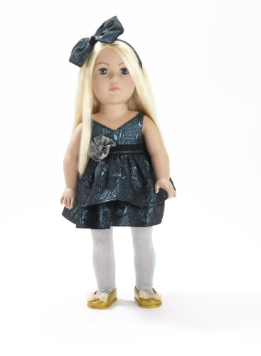 Madame Alexander 18″ Dollie and Me in Blue Dress, Baby & Kids Zone