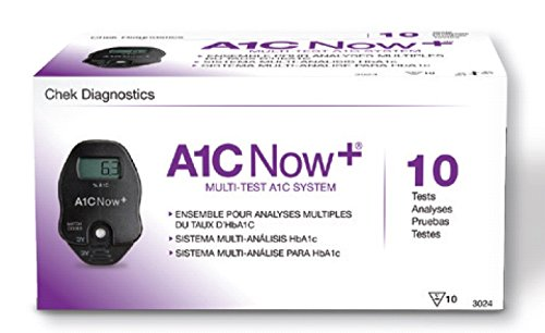 4303514 PT# 3024 Test A1C Now hBa1C CLIA Waived 10 Count ...