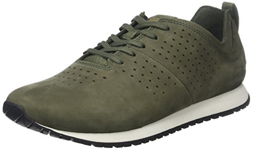 Timberland Herren Retro Runner Oxford, A1ijl Black Grün (Grape Leaf A58)