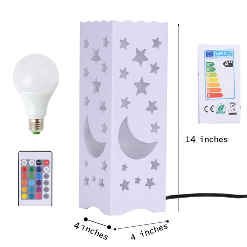- Night light Night Lamp Color Changing Remote Control Kids Lamp Home Decoration Best Gift For Men Women Teens Kids
