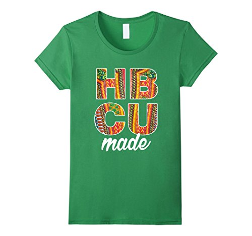 Women's HBCU Made Dashiki Graduate T Shirt XL Grass
