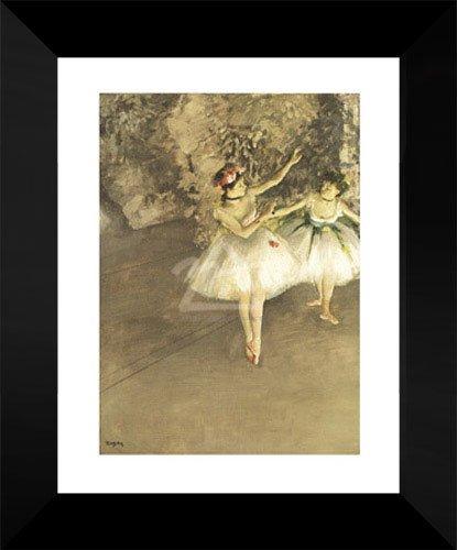 Edgar Degas Framed Art Print 18x15
