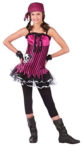 Rockin Skull Pirate Teen 0-9 Kids Girls ()