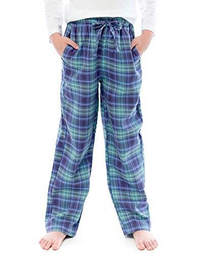 TINFL Kids Boys 100% Cotton Pajama Lounge Pants 3BP-20-Blue XL